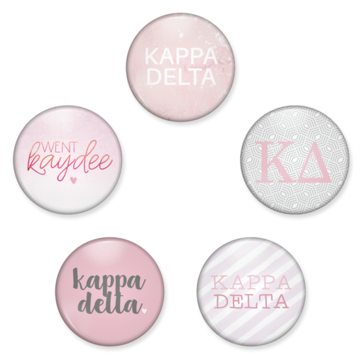 Kappa Delta Buttons from www.alistgreek.com