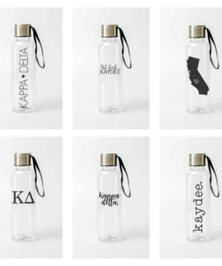 Kappa Delta Water Bottles from www.alistgreek.com