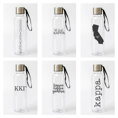 Kappa Kappa Gamma Water Bottles from www.alistgreek.com