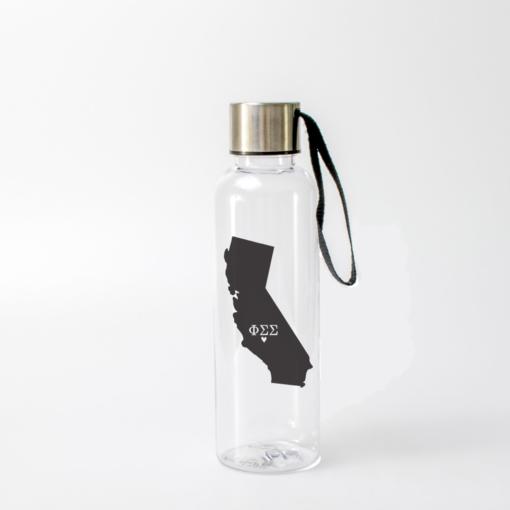 Phi Sigma Sigma State Water Bottle from www.alistgreek.com
