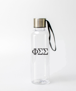 Phi Sigma Sigma Greek Letter Water Bottle from www.alistgreek.com