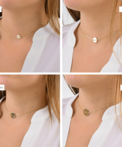 Phi Sigma Sigma Circle Choker 4 sizes