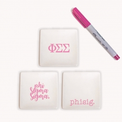Phi Sigma Sigma Jewelry Tray Set from www.alistgreek.com
