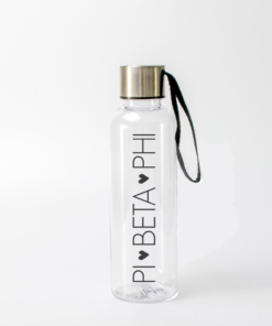 Pi Beta Phi Block Letter Water Bottle from www.alistgreek.com