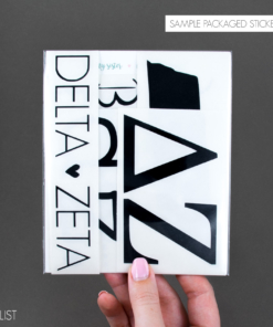 Sorority Decal Set from www.alistgreek.com