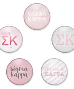 Sigma Kappa Buttons from www.alistgreek.com