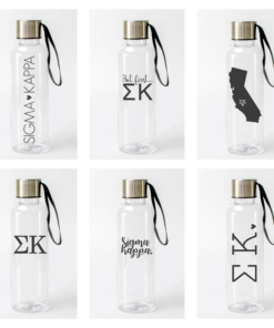 Sigma Kappa Water Bottles from www.alistgreek.com