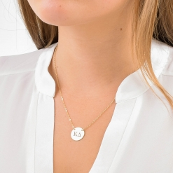 Medium Kappa Delta Sorority Circle Necklace by www.alistgreek.com