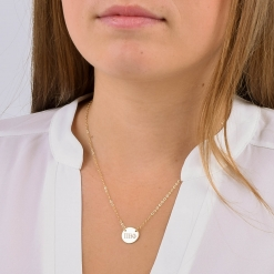 Medium Pi Beta Phi Sorority Circle Necklace by www.alistgreek.com