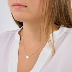 Alpha Gamma Delta Circle Necklace by www.alistgreek.com