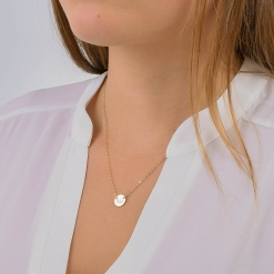 Chi Omega Circle Necklace by www.alistgreek.com