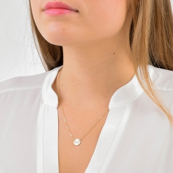 Pi Beta Phi Sorority Circle Necklace by www.alistgreek.com