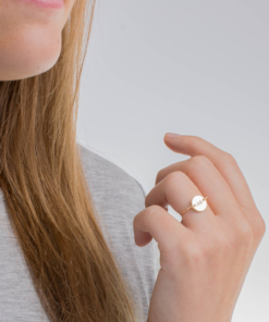 Petite Alpha Phi Sorority Circle Wire Ring by www.alistgreek.com