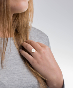 Alpha Phi Gold Sorority Circle Wire Ring by www.alistgreek.com
