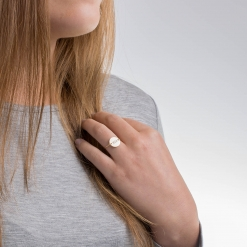 Chi Omega Sorority Small Circle Wire Ring by www.alistgreek.com