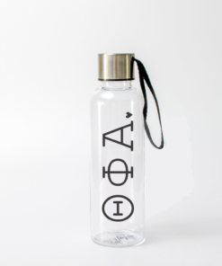 Theta Phi Alpha Typewriter Greek Letter Water Bottle from www.alistgreek.com