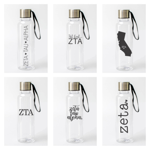 Zeta Tau Alpha Water Bottles from www.alistgreek.com