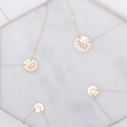 chi-omega-circle-necklace-compilation-gold-2