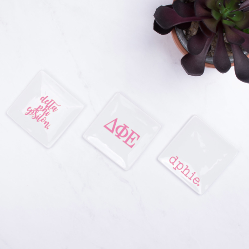 delta-phi-epsilon-trays-on-marble-sorority-soft-pink
