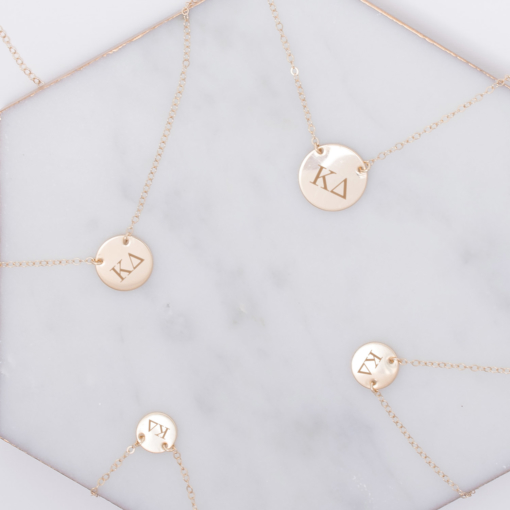 kappa-delta-circle-necklace-compilation-gold-2