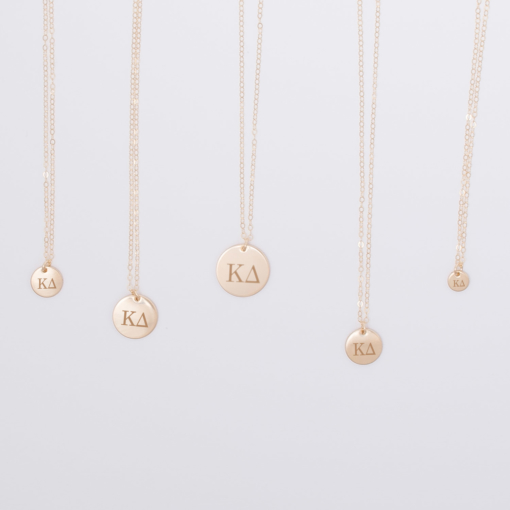 kappa-delta-disc-charm-necklace-compilation-gold-5