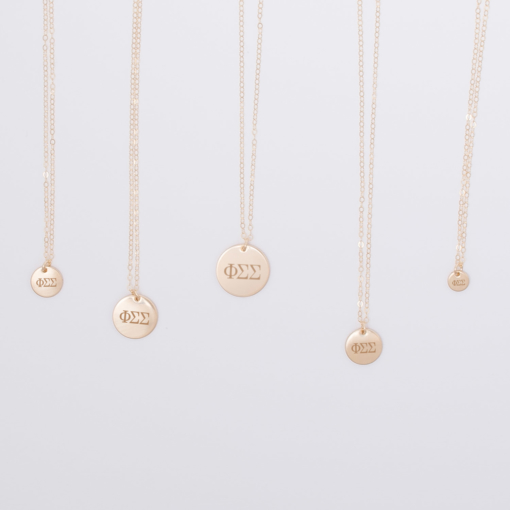 phi-sigma-sigma-disc-charm-necklace-compilation-gold-5