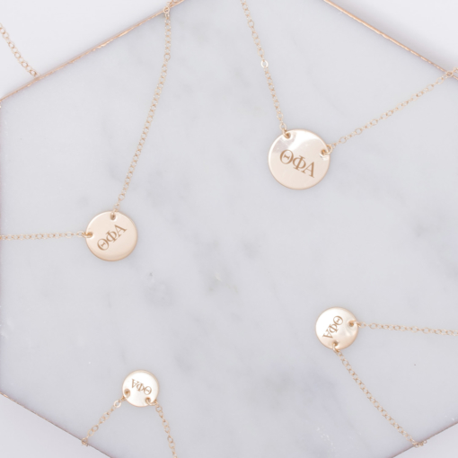 theta-phi-alpha-circle-necklace-compilation-gold-2