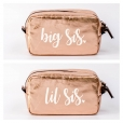 Big Sis Lil sis Cosmetic bag gift set from www.alistgreek.com