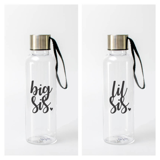 Big Sis LiL Sis Water Bottle Set from www.alistgreek.com