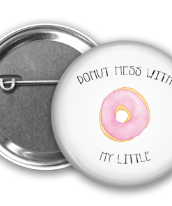 Donut Mess with my Little Button from www.alistgreek.com