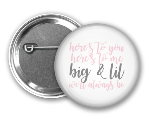Heres to You Big Little Button from www.alistgreek.com