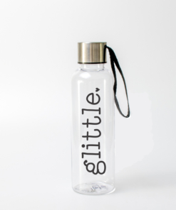 glittle water bottle from www.alistgreek.com