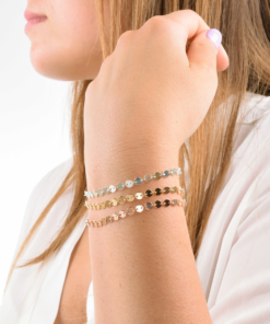 Coin Chain Bracelets from www.alistgreek.com