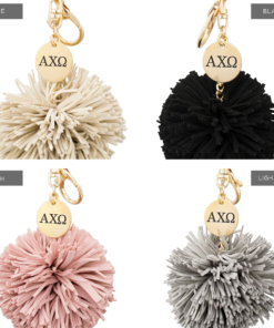 Alpha-Chi-Omega-Greek-Letter-Pom-Design 4 Color Compilation