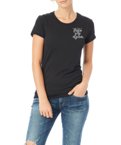 Sorority-Black-Tshirt-Embroidered-Theta-Phi-Alpha-Script-Light-Gray-3