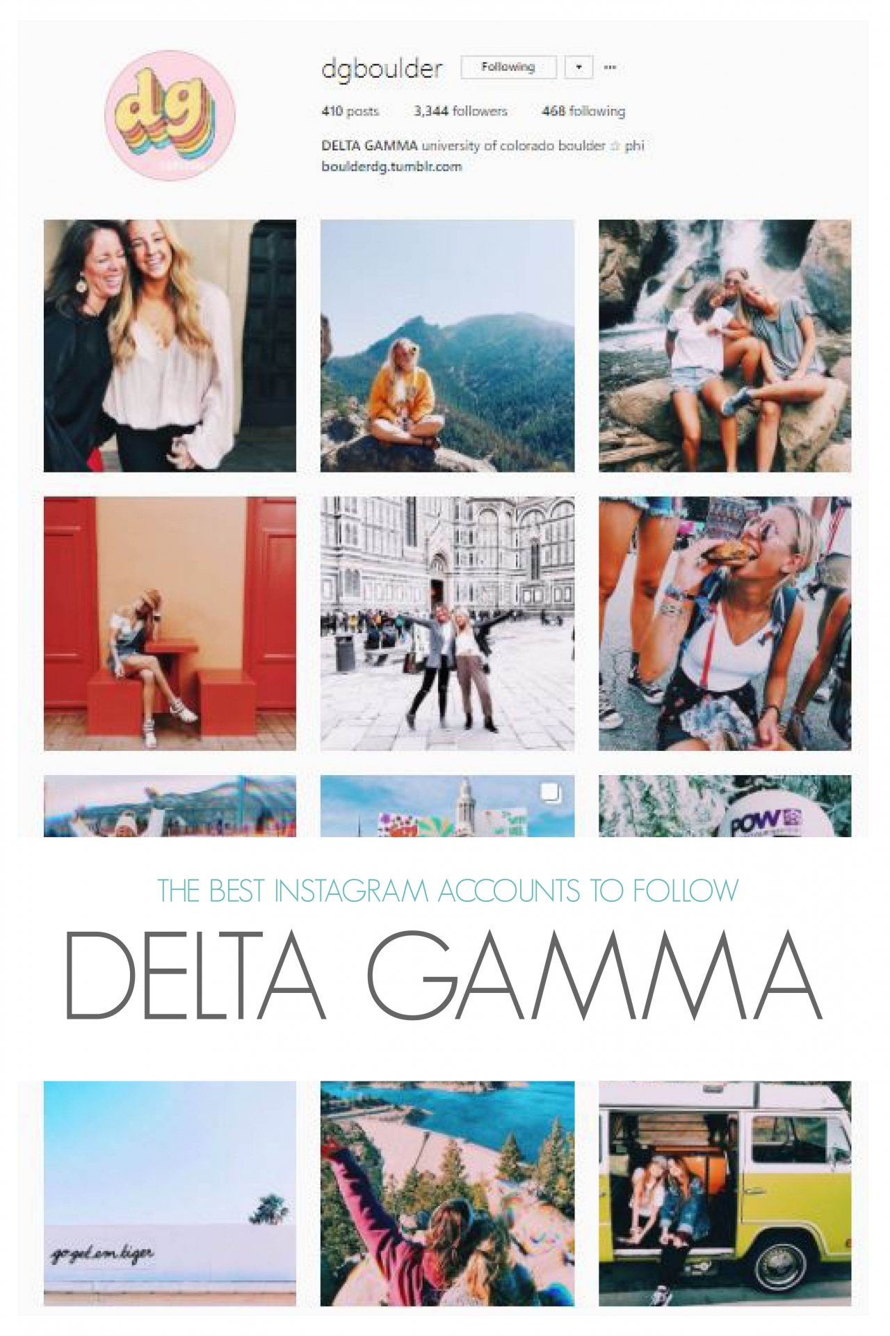 The Best Alpha Phi Accounts to Follow on Instagram