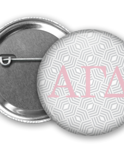 AGD Geometric Pin Back Button Mock Up