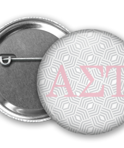 AST Geometric Pin Back Button Mock Up