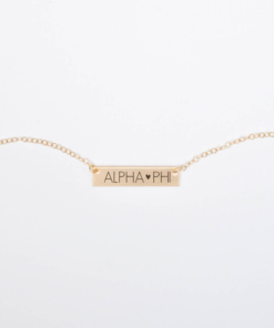 Bar-Necklace-Gold-H625-Alpha-Phi-block-letters