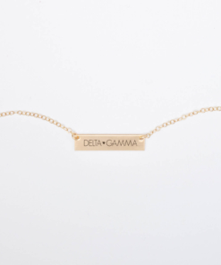 Bar-Necklace-Gold-H625-Delta-Gamma-block-letters