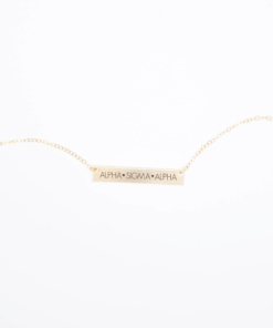 Bar-Necklace-Gold-H635-Alpha-Sigma-Alpha-block-letters-2