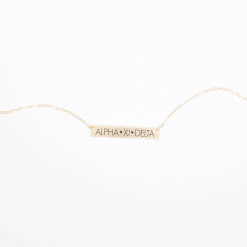 Bar-Necklace-Gold-H635-Alpha-Xi-Delta-block-letters-2