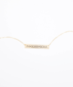 Bar-Necklace-Gold-H635-Phi-Sigma-Sigma-block-letters-2