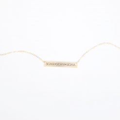 Sigma Sigma Sigma 635 horizontal bar necklace gold-2