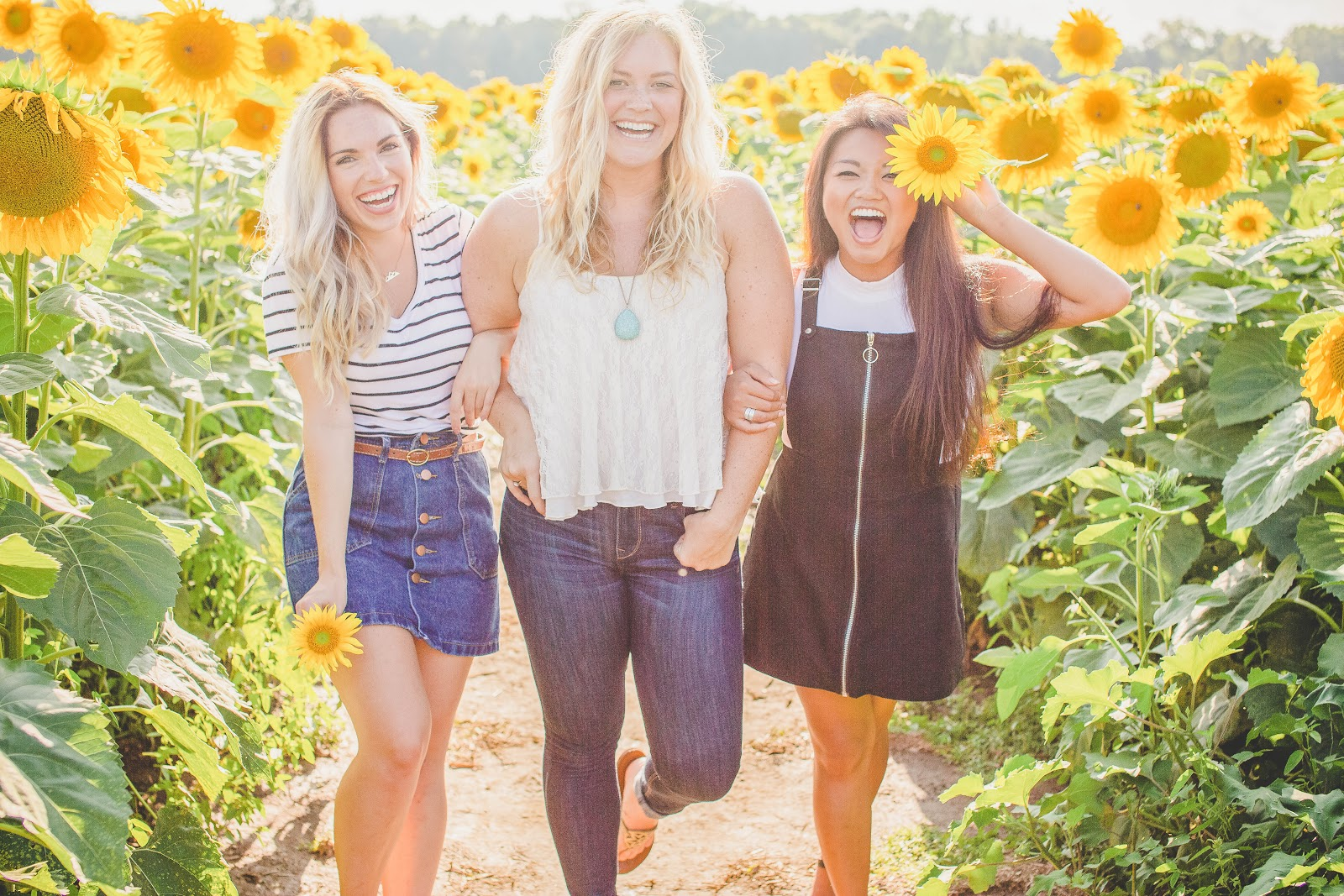 Sorority Women Sunflowers