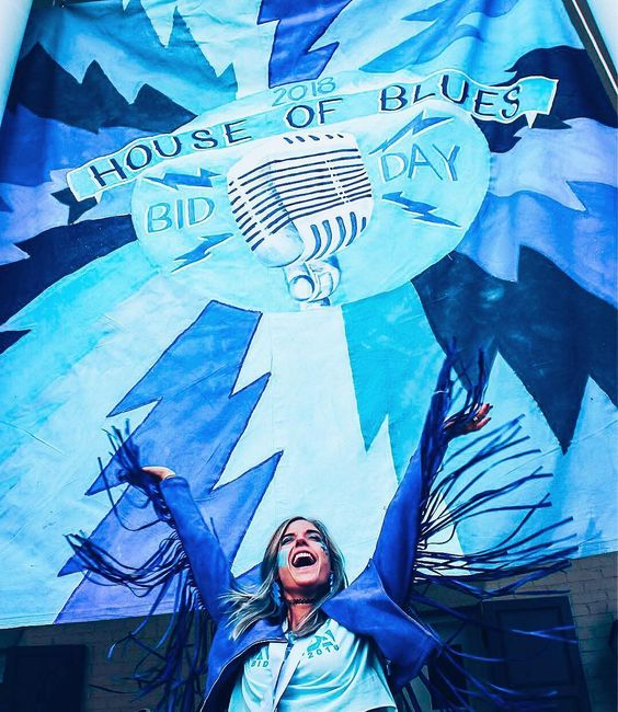 KKG House of Blues Bid Day Image from @olemisskkg