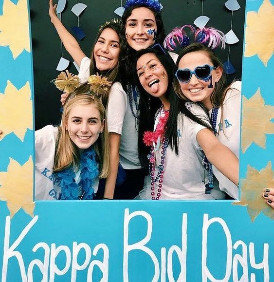 KKG Bid Day Image from instagram @kkgwustl