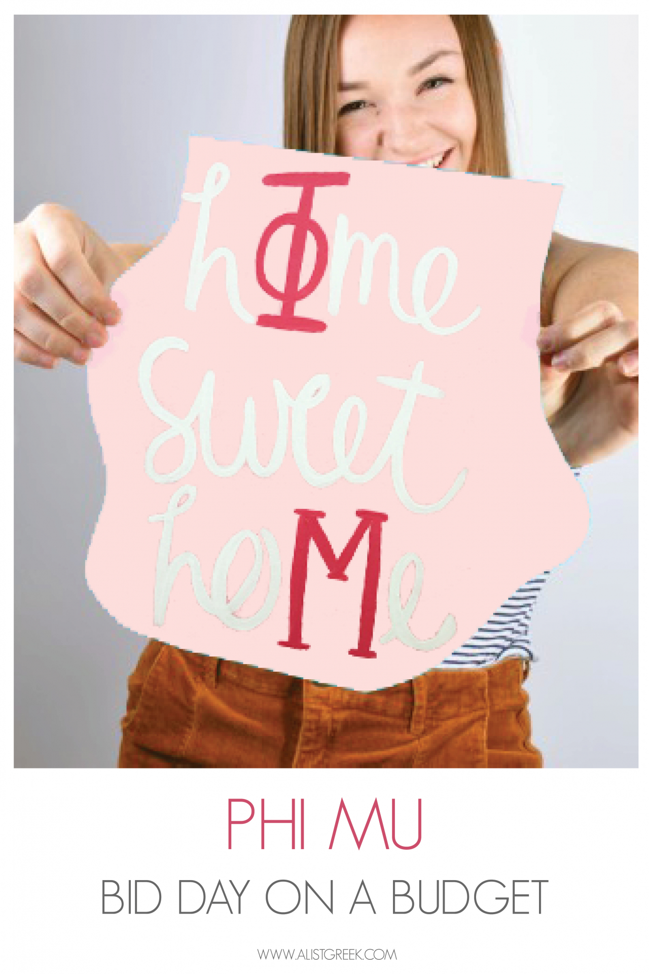 Phi Mu Bid Day on a Budget Feature Image