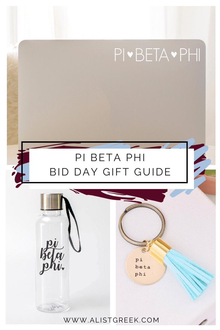 Pi Beta Phi Bid day gift guide blog feature image