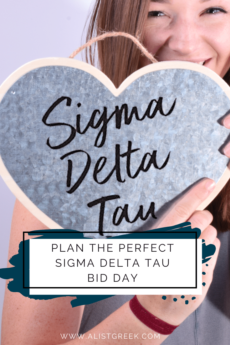 Plan the perfect Sigma Delta Tau Bid Day blog feature image